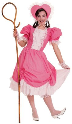 Little Bo Peep Costume Deluxe | Theatrical Bo Peep Costume