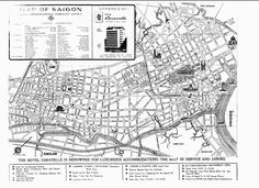 Saigon Map 1968