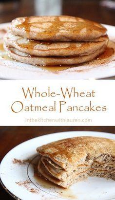 ... on Pinterest | Oatmeal pancakes, Chicken lasagna rolls and Apple salsa