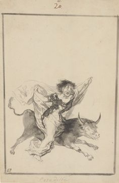Reúnen y exhiben por primera vez y casi completo el álbum privado de 'brujas y viejas' de Goya.