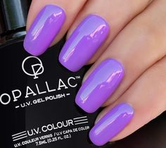 This juicy burst of purple is everything you need to get the party started! How To Know, How To Get, Get The Party Started, Gel Color, Popsicles, Nail Polish, Purple, Nails, Finger Nails
