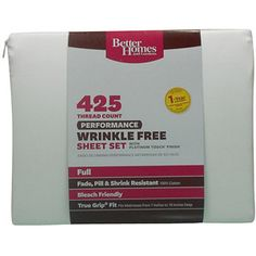 Better Homes and Gardens 425-Thread Count Performance Bedding Sheet Set