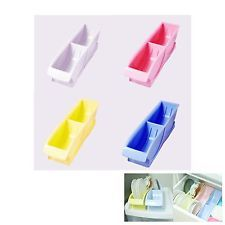 New Pastel Pocket Dish Rack Kitchen Shelf Space Saver Sink Storage Organizer