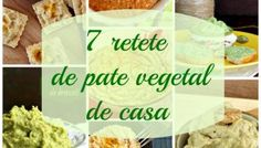 7 retete de pate vegetal de casa, delicioase si sanatoase Vegan Sauces, Raw Vegan Recipes, Vegan Vegetarian, Vegetarian Recipes, Cooking Recipes, Healthy Recipes, Vegan Food, Moussaka, Roh Vegan