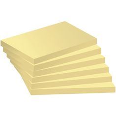 Staples Stickies™ Sticky Notes Pad 76 x 102 mm, Yellow, 100 Sheets | Staples®