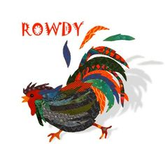 Free Applique Quilt Patterns | That Radical Rooster Quilt Patterns ... : rooster quilt pattern - Adamdwight.com