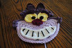 Ravelry: The Cheshire Cat Applique pattern by Lorene Haythorn Eppolite- Cre8tion Crochet
