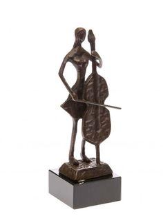 Bronzestatue Dichter Bronzeskulptur Komponist Bronze Redner Figur Antik-Stil