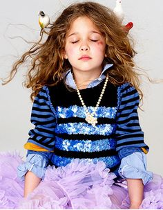 Stylist Sarah Clary, whose client list includes J.Crew, Lands' End, and Tommy Hilfiger, certainly knows how to dress kids cutely.