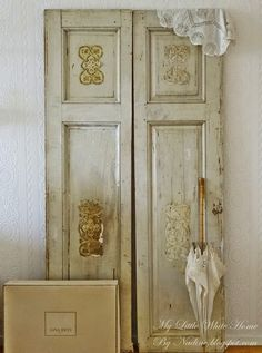 My little white home by Nadine: Deuren met een pluutje ~ Doors with an umbrella