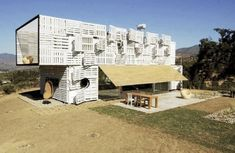 Shipping container homes are the perfect blend of modern architecture and sensible green building. Buy your own used cargo container on sale and start building today! Container Design, Shipping Container Home Designs, Cargo Container, Shipping Containers, Container Architecture, Container Buildings, Sustainable Architecture, Container Houses, Box Architecture