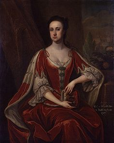 1727 Anne Hatton, Countess of Winchilsea, by Jonathan Richardson (National Portrait Gallery - London, UK)