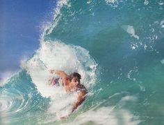 "Body-surfing in Hawaii. ~ Miks' Pics ""Water Sport in Hawaii"" board @ http://www.pinterest.com/msmgish/water-sport-in-hawaii/"