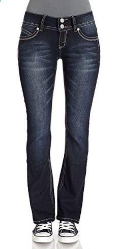 1159aa4c84dc WallFlower Juniors Luscious Curvy Short Inseam Basic Bootcut Jeans in Rinse  Vintage Size  9 · Shorts InseamWomen s ...