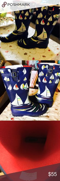 sperry top sider rain boots sperry top sider rain boots new without tags size 10 Sperry Top-Sider Shoes Winter & Rain Boots