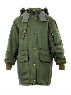 Hooded parka coat | Balenciaga | MATCHESFASHION.COM