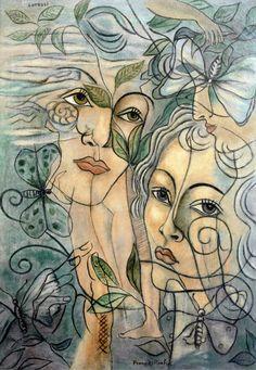 The Athenaeum - Lotruli - Visage de Olga (Francis Picabia - )
