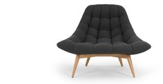 £499 made.com Kolton Chair, Kestrel Grey
