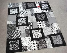 The Way I Sew It: Two for the Show  -- The pattern is Perfect Ten by Swirly Girls Design, which calls for 10 fat quarters.  I had nine, plus some great scraps from Jenny, so I mixed those in too, including the one black/white/red piece.  It was too perfect not to!