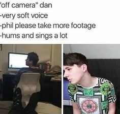 Phil, plz, make 2017 better than 2016 by taking more footage of Dan!