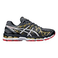 "Be in awe of the ""ahh!"" Just when you thought the legendary Men's ASICS GEL-Kayano running shoe couldn't get any better, be amazed by the even more luxurious update, the GEL-Kayano 20"