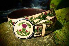 thistle belt thistle design belt