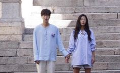 Jun Ji Hyun and Lee Min Ho captured in Spain filming for upcoming drama 'The Legend of the Blue Sea' | allkpop.com