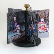 Show off your family with this foam board photo carousel