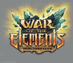 wow tcg - war of the elements Game Font, Game Ui, Mobile Logo, Game Logo Design, Text Design, Word Design, Ui Design, App Logo, Great Logos