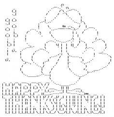 Happy Thanksgiving in ASCII Text Art