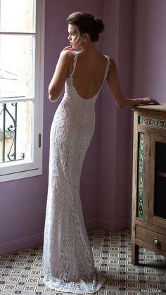 riki dalal bridal 2016 sleeveless deep sweetheart lace strap beaded sheath wedding dress (1812) bv elegant glam -- Riki Dalal 2016 Wedding Dresses | Wedding Inspirasi #wedding #weddings #bridal #weddingdress #bride ~