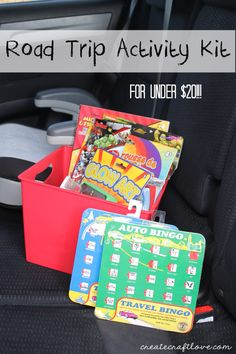 Road Trip Activity Kit | Create Craft Love