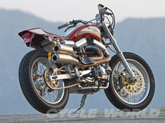 """Racing Cafè: Mule Motorcycles XR 1660 Street Tracker """"The Punisher"""""""