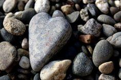 I always find heart rocks!