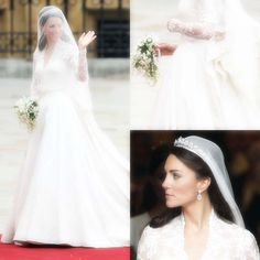 Shop These Kate Middleton-Inspired Wedding Day Dresses at Every Price Point Wedding Day Dresses, Wedding Gowns With Sleeves, Designer Wedding Dresses, Alexander Mcqueen Wedding Dresses, Kate Middleton Wedding Dress, Isabel Ii, Princess Kate, Princess Katherine, Royal Weddings