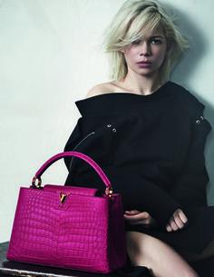 Le voyage continue pour Michelle Williams et Louis Vuitton