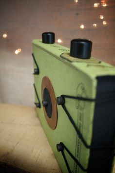 Pinhole Camera (made from old books/upcycled) - engrained on etsy