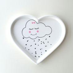 """Herzteller """"Kleine Wolke"""" large von JU-GrafikDesign auf DaWanda.com"""