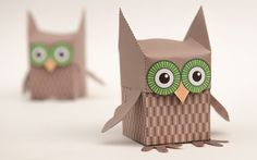 FREE printable Owl Box (+ tutorial) | www.robives.com