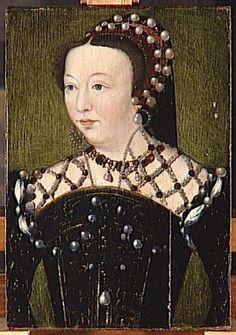 CATHERINE DE MEDFICI PROVENANCE Corneillede Lyon, prior to 1560, photo joconde