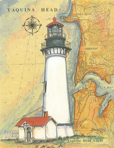 Lighthouse Pictures, Lighthouse Art, Lighthouse Keeper, Decoupage Printables, Show Me The Way, Beacon Of Light, Watercolor Paintings, Watercolour, Paper Background