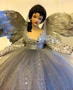 Silver Belleza Divina Christmas Angel Tree by DivineAngelShop, $65.00