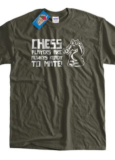 Chess Players Are Always Ready To Mate Screen by IceCreamTees, $14.99