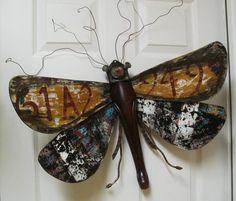 Chair Leg Art Bug Wall or Garden Art graffiti by LucyDesignsonline, $85.00