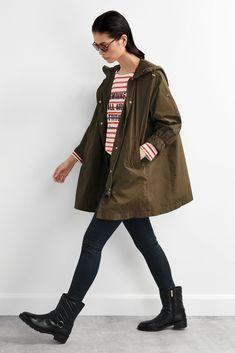 Parka Oversize Capucha Chaquetas Y Cazadoras Pedro Del Hierro Latest Clothing Trends Trending Outfits Clothes