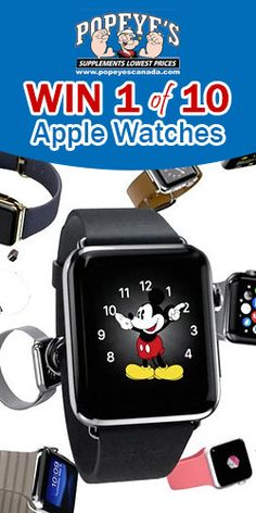 #Win 1 of 10 #Apple Watches with #Popeye's