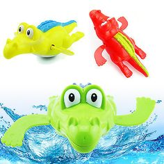 Best wind up #clockwork cute crocodile kid baby #swimming #favor bath time play t,  View more on the LINK: 	http://www.zeppy.io/product/gb/2/151829829903/