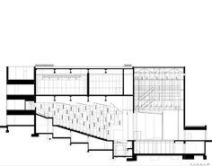 Imagem 29 de 32 da galeria de Teatro Municipal de Guarda / AVA Architects. Corte 02