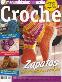 R21 Croche - Zapatos Comodos, Casuales y a la Moda ~ Creaciones Tejidas