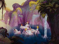 the mermaid lagoon from peter pan <3
